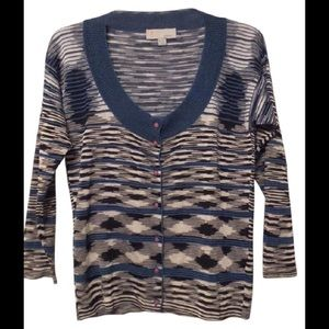 NEW MISSONI Lightweight Cardigan Sweater Size 42 M